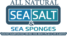 All Natural Sea Salt and Sponges
